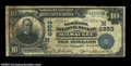 National Bank Notes:Wisconsin, Milwaukee, WI - $10 1902 Date Back Fr. 616 The Germania ...