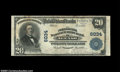 National Bank Notes:Wisconsin, Neenah, WI - $20 1902 Plain Back Fr. 660 The National ...