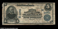 National Bank Notes:Wisconsin, Niagara, WI - $5 1902 Plain Back Fr. 606 The First NB ...