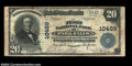 National Bank Notes:Wisconsin, Park Falls, WI - $20 1902 Plain Back Fr. 657 The First ...