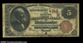 National Bank Notes:Wisconsin, Rhinelander, WI - $5 1882 Brown Back Fr. 471 The First ...