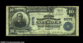 National Bank Notes:Wisconsin, Seymour, WI - $10 1902 Plain Back Fr. 624 The First NB ...