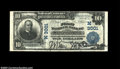 National Bank Notes:Wisconsin, Stevens Point, WI - $10 1902 Plain Back Fr. 624 The ...