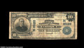 National Bank Notes:Wisconsin, Viroqua, WI - $10 1902 Plain Back Fr. 626 The First NB ...