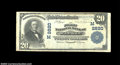 National Bank Notes:Wisconsin, Wausau, WI - $20 1902 Plain Back Fr. 650 The First NB ...