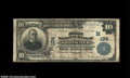 National Bank Notes:Wisconsin, Whitewater, WI - $10 1902 Plain Back Fr. 624 The First ...
