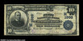 National Bank Notes:Wisconsin, Wisconsin Rapids, WI - $10 1902 Plain Back Fr. 628 The ...