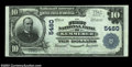 Kemmerer, WY - $10 1902 Plain Back Fr. 633 The First NB Ch. # 5480 One of only a tiny number of large size Wyoming note...