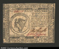 Colonial Notes:Continental Congress Issues, November 29, 1775, $8, Continental Congress Issue, CC-18, AU. ...