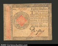 Colonial Notes:Continental Congress Issues, January 14, 1779, $80, Continental Congress Issue, CC-102, CU++...
