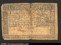 Colonial Notes:New York, September 2, 1775, $1, New York, NY-177, Fine-Very Fine. This ...