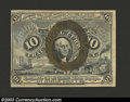 Fractional Currency:Second Issue, Second Issue 10c, Fr-1246, Choice CU. This is an attractive ...