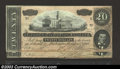 Confederate Notes:1864 Issues, 1864 $20 State Capitol at Nashville, TN; A.H. Stephens on ... (2notes)