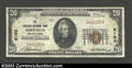 National Bank Notes:Pennsylvania, Sheffield, PA - $20 1929 Ty. 1 Sheffield National Bank ...