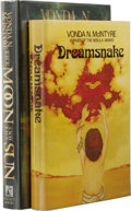 Books:First Editions, Vonda N. McIntyre: Two Book Lot, including:. Dreamsnake.(Boston: Houghton Mifflin Company, 1978), first edition, 31...(Total: 2 )