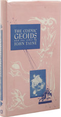 Books:First Editions, John Taine: The Cosmic Geoids and One Other. (Los Angeles:Fantasy Publishing Co., Inc., 1949), first edition, 179...