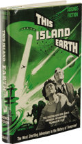 Books:Signed Editions, Raymond F. Jones Signed: This Island Earth. (Chicago: ShastaPublishers, 1952), first edition, 220 pages, bound in decor...