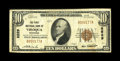National Bank Notes:Wisconsin, Viroqua, WI - $10 1929 Ty. 1 The First NB Ch. # 8529. A tougher note from the only bank in town to issue. Evenly circula...