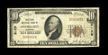 National Bank Notes:Colorado, Central City, CO - $10 1929 Ty. 1 The First NB Ch. # 2129. WhileBlack Charter territorial examples abound from this ins...