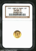 Commemorative Gold: , 1905 Lewis and Clark MS62 NGC. ...