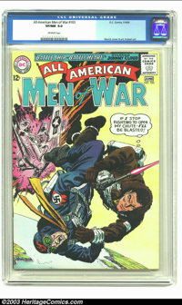 All-American Men of War #103 (DC, 1964) CGC VF/NM 9.0 Off-white pages. Irv Novick cover and art; Joe Kubert war art. Ove...