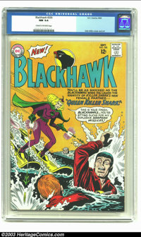 """Blackhawk #200 (DC, 1964) CGC NM 9.4 Cream to off-white pages. Dick Dillin cover and art; """"Queen Killer Shark""""..."""
