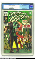 Bronze Age (1970-1979):Horror, Chamber of Darkness #8 (Marvel, 1970) CGC NM- 9.2 Off-white pages.Berni Wrightson cover. Overstreet 2002 NM 9.4 value = $22...