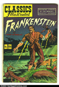 Golden Age (1938-1955):Classics Illustrated, Classics Illustrated #26 HRN 60 Frankenstein (Gilberton, 1945) Condition: VG/FN. Overstreet 2002 GD 2.0 value = $17; FN 6.0 ...