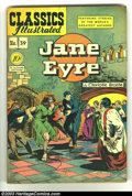 Golden Age (1938-1955):Classics Illustrated, Classics Illustrated #39 (Original) Jane Eyre (Gilberton, 1947)Condition: VG+. Overstreet 2002 GD 2.0 value = $29; FN 6.0 v...