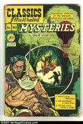 Golden Age (1938-1955):Classics Illustrated, Classics Illustrated #40 (Original) Mysteries (Gilberton, 1947)Condition: GD/VG. They only reprinted this one a few times. ...