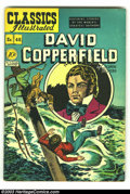 Golden Age (1938-1955):Classics Illustrated, Classics Illustrated #48 (Original) David Copperfield (Gilberton, 1948) Condition: FN+. Overstreet 2002 FN 6.0 value = $45....