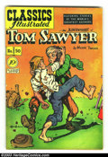 Golden Age (1938-1955):Classics Illustrated, Classics Illustrated #50 (Original) Tom Sawyer (Gilberton, 1948)Condition: VG+. Overstreet 2002 FN 6.0 value = $45....