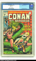 Bronze Age (1970-1979):Superhero, Conan The Barbarian #7 (Marvel, 1971) CGC NM 9.4 Cream to off-white pages. Barry Windsor-Smith art. Overstreet 2002 NM 9.4 v...