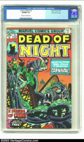 Bronze Age (1970-1979):Horror, Dead of Night #10 Stan Lee file copy (Marvel, 1975) CGC VF/NM 9.0Cream to off-white pages. Super cool Stan Lee file copy! O...