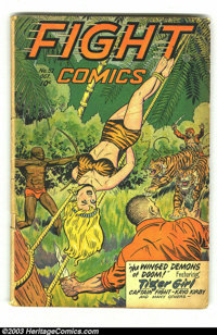 Fight Comics #52 (Fiction House, 1947) Condition: GD/VG. Joe Doolin cover. Jack Kamen and Matt Baker art. Overstreet 200...