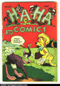 Golden Age (1938-1955):Funny Animal, Ha Ha Comics lot (ACG, 1945). #53 is VG and #73 is Fine. Overstreet2002 value for group = $30. ... (Total: 2 Comic Books Item)