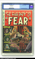 Golden Age (1938-1955):Horror, The Haunt of Fear #15 (EC, 1952) CGC VF 8.0 Cream to off-whitepages. Davis, Kamen and Evans art. Overstreet 2002 VF 8.0 val...