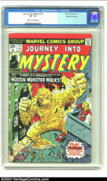 Bronze Age (1970-1979):Horror, Journey into Mystery #15 Stan Lee file copy (Marvel, 1975) CGC VF-7.5 Cream to off-white pages. Steve Ditko and Jack Kirby ...