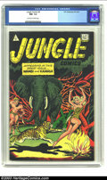 Golden Age (1938-1955):Adventure, Jungle Comics #9 (I.W. Enterprises, 1952) CGC NM- 9.2 Off-white to white pages. Canadian edition; Wambi and Kaanga. Overstre...
