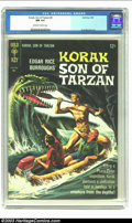 Silver Age (1956-1969):Adventure, Korak, Son of Tarzan #8 (Gold Key, 1965) CGC NM 9.4 Off-white towhite pages. Russ Manning art; painted cover. Overstreet 20...