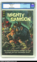 Silver Age (1956-1969):Adventure, Mighty Samson #3 (Gold Key, 1965) CGC NM+ 9.6 Off-white pages. Frank Thorne art; painted cover. Overstreet 2002 NM 9.4 value...