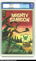 Silver Age (1956-1969):Adventure, Mighty Samson #4 (Gold Key, 1965) CGC NM 9.4 Cream to off-white pages. Frank Thorne art; painted cover. Overstreet 2002 NM 9...