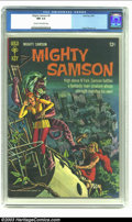 Silver Age (1956-1969):Adventure, Mighty Samson #5 (Gold Key, 1966) CGC NM 9.4 Cream to off-white pages. Frank Thorne art; painted cover. Overstreet 2002 NM 9...