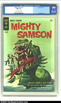Silver Age (1956-1969):Adventure, Mighty Samson #8 (Gold Key, 1966) CGC NM+ 9.6 Cream to off-white pages. Jack Sparling art; painted cover. Overstreet 2002 NM...