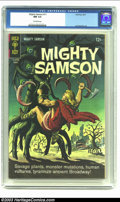 Silver Age (1956-1969):Adventure, Mighty Samson #11 (Gold Key, 1967) CGC NM 9.4 Off-white pages. Jack Sparling art; painted cover. Overstreet 2002 NM 9.4 valu...