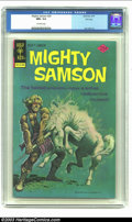 Bronze Age (1970-1979):Miscellaneous, Mighty Samson #29 File copy (Gold Key, 1975) CGC NM+ 9.6 Off-whitepages. Jack Abel art; painted cover. Overstreet 2002 NM 9...