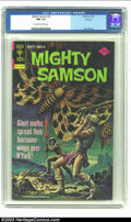 Bronze Age (1970-1979):Miscellaneous, Mighty Samson #31 File Copy (Gold Key, 1976) CGC NM 9.4 Off-whiteto white pages. Jack Abel art; painted cover. Overstreet 2...