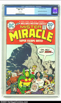 Bronze Age (1970-1979):Superhero, Mister Miracle #18 (DC, 1974) CGC NM+ 9.6 White pages. Mister Miracle and Barda wed; Jack Kirby cover and art. Overstreet 20...