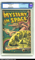 Golden Age (1938-1955):Science Fiction, Mystery in Space #14 (DC, 1953) CGC FN 6.0 Cream to off-whitepages. Infantino, Anderson and Kane art. Overstreet 2002 FN 6....