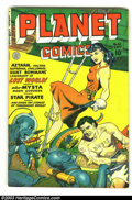 Golden Age (1938-1955):Science Fiction, Planet Comics #62 (Fiction House, 1949) Condition: VG/FN. JoeDoolin cover. Doolin, Whitman, and Evans art. Overstreet 2002 ...